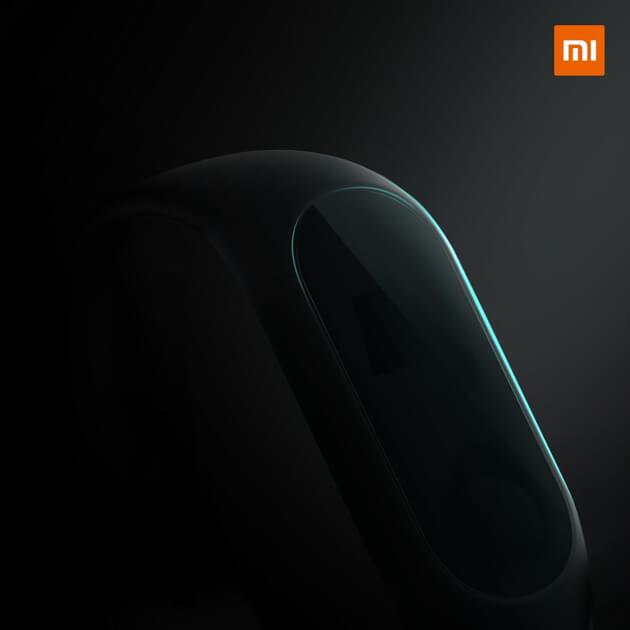 Xiaomi официальный тизер Mi Band 3